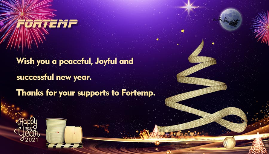 Season's Greeting from Fortemp